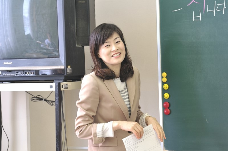 Many instructors, including Korean language lecturer Jeongseon Yang, offer a variety of interesting courses.
