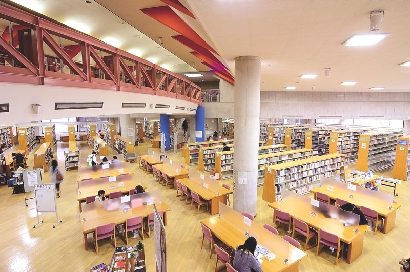 The library is the academic heart of NUFS.