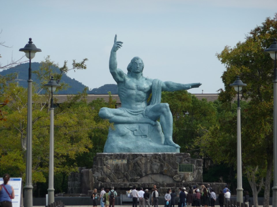 Statue of Prayer and Peace at the Nagasaki Peace Park (Heiwa Kōen)