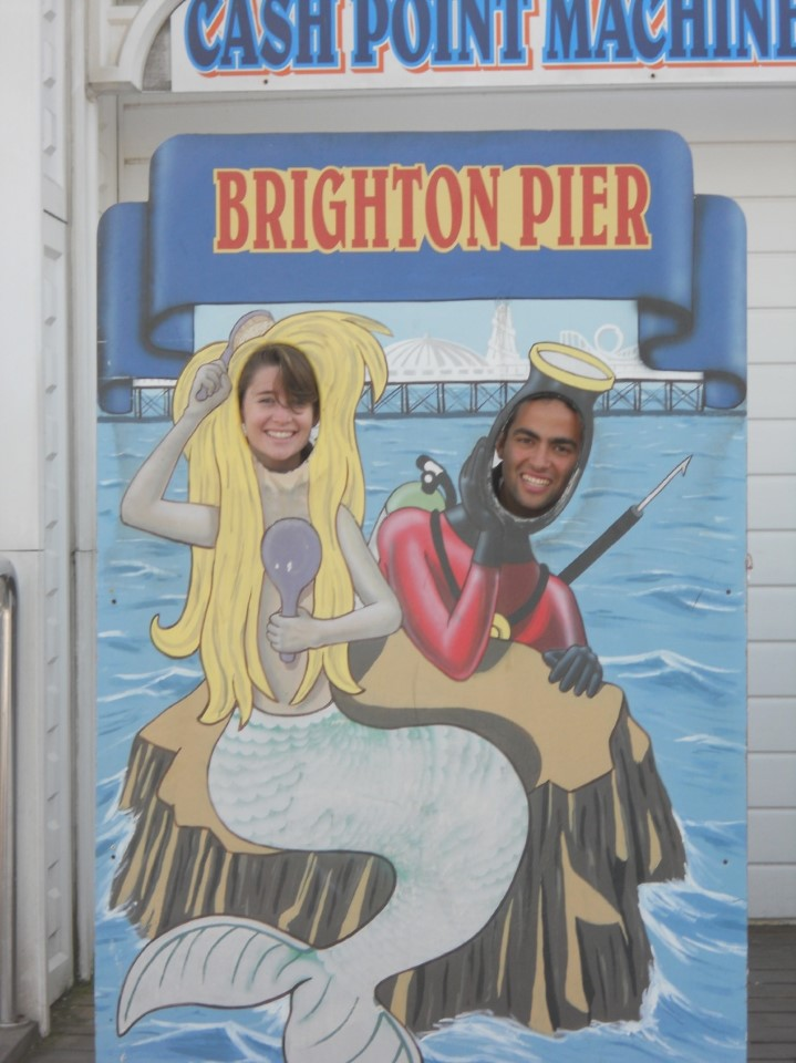 Brighton Pier is the second most visited leisure facility in England, with over 4.5 million tourists enjoying the rides and traditional English seaside scene every year.
