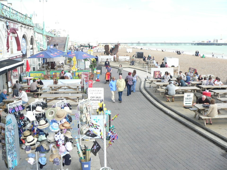Brighton beach was recently named one of the nine best beaches in the world by CNN.