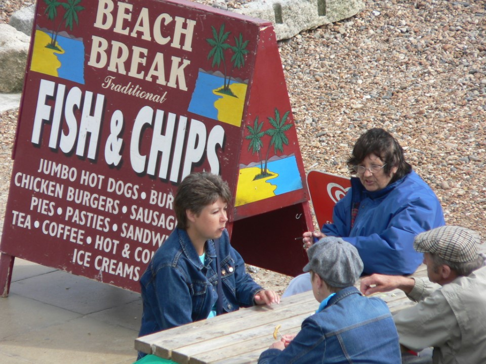 Fish and chips were first created in England and became a stock meal among the working classes in the UK, but it is now a popular dish for all!