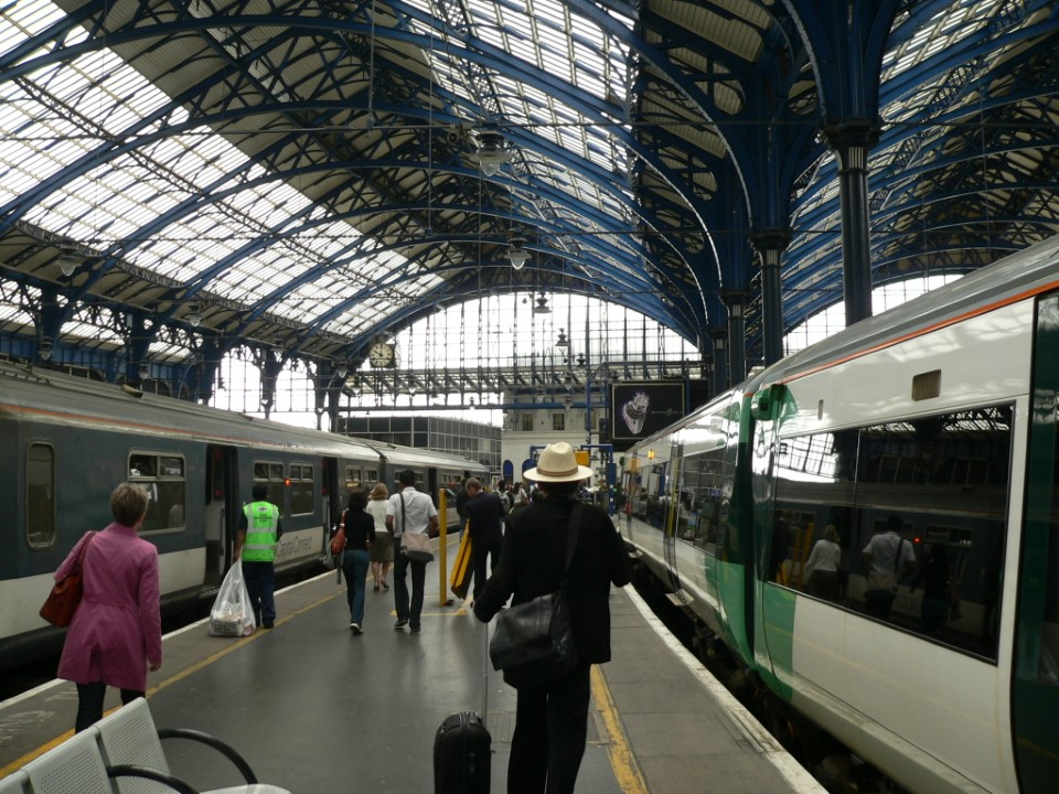 The university campus is close to Brighton's train station, which allows for quick and easy travel around the country.