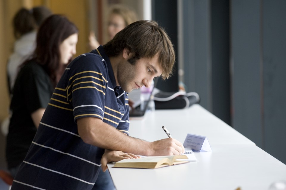 There are many places on campus to get out your books and focus on studying.