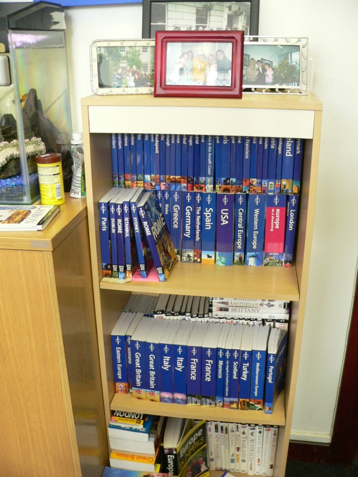 There are many tourist  books to use for free if you are looking to travel around.
