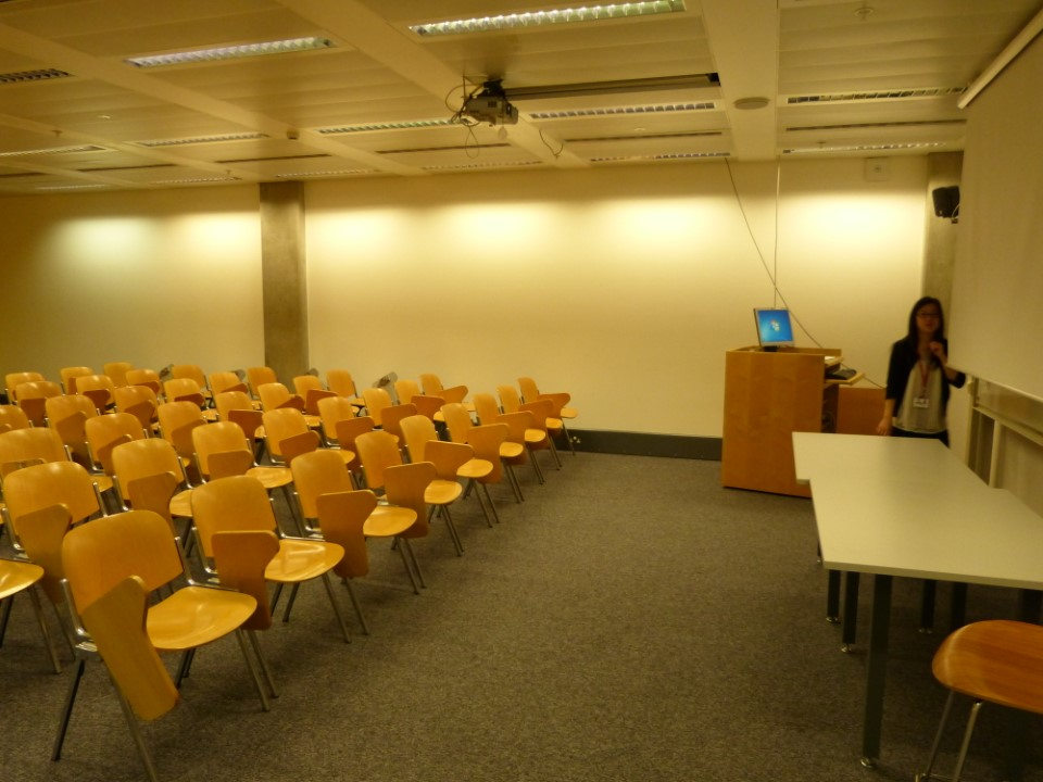 A typical classroom at Imperial College London