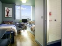 A view of a common twin bedroom at Nido.