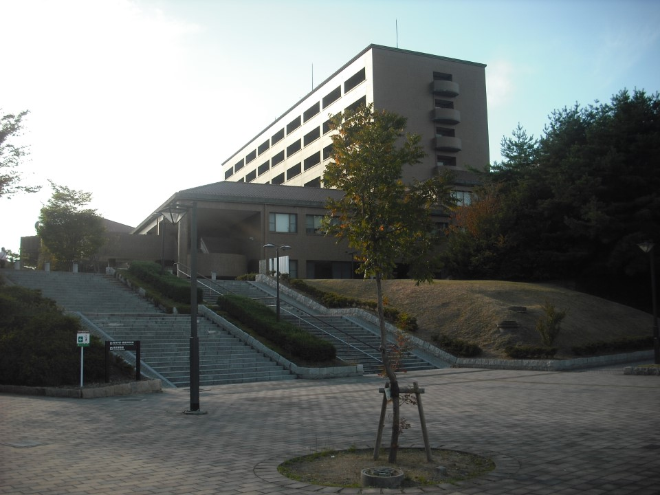 This is the education building where you will be taking your Japanese language classes.