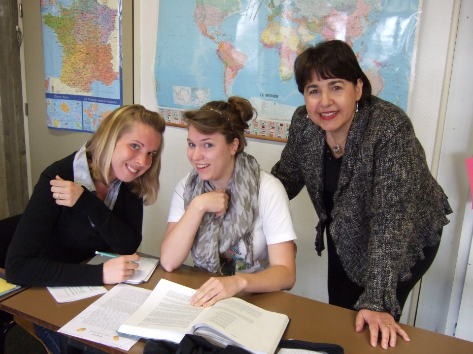 Classes in Pau are small enough that students get a one on one educational experience with professors