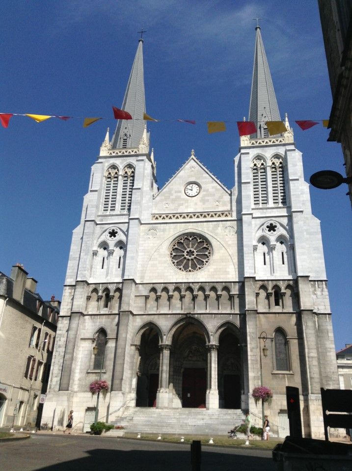 Eglise Saint-Jacques was built in 1868 and renovated in 2012
