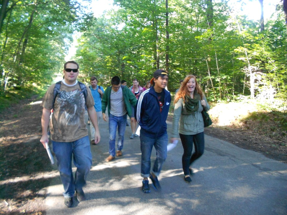 Field trip for elective course on climate change and forests
