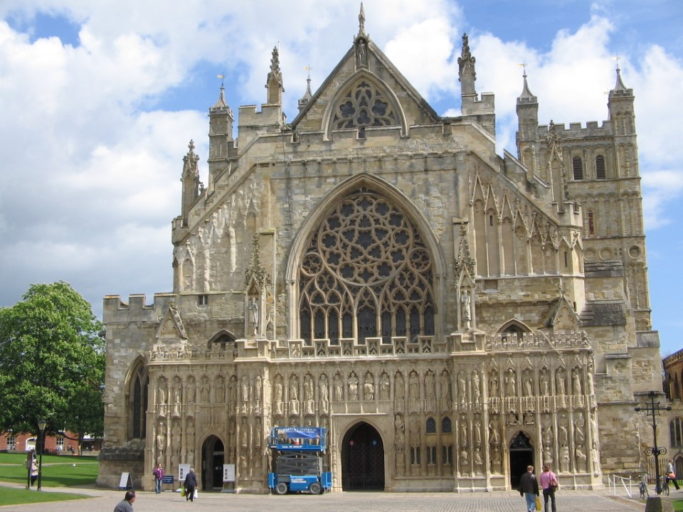 Winchester Cathedral is one of the largest cathedrals in England, with the longest nave and greatest overall length of any Gothic cathedral in Europe.