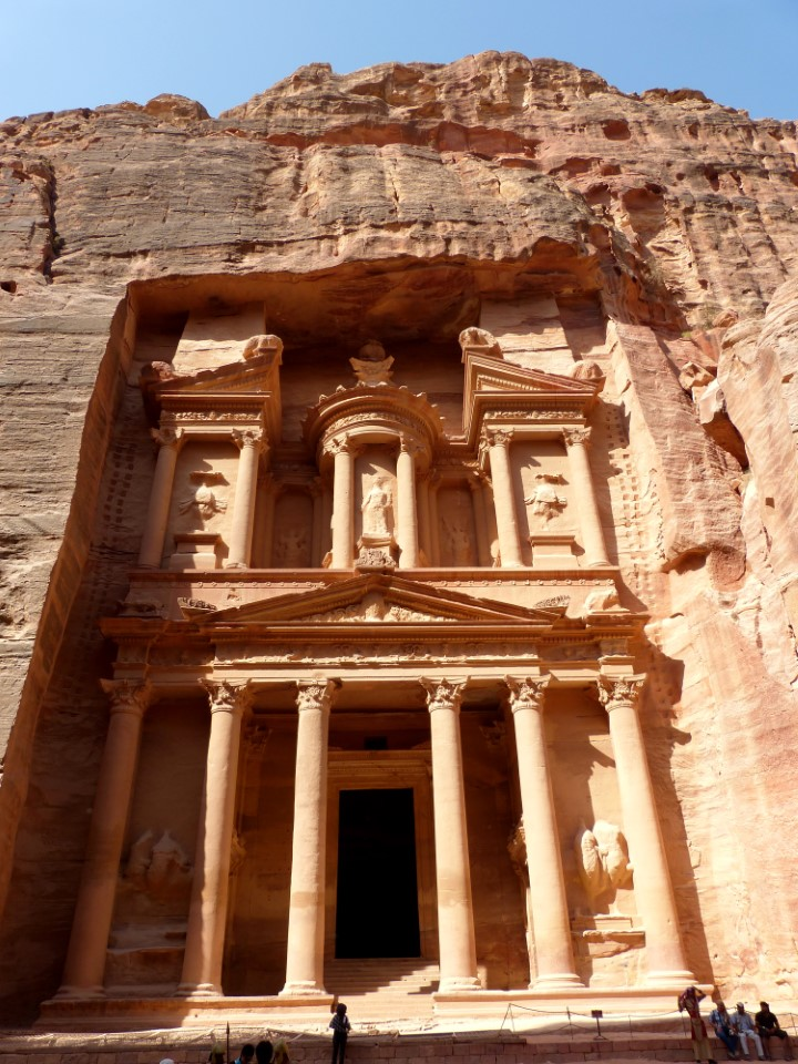 Petra, known as the Rose City, is a hidden treasure of the past that remained unheard of until about 1812.