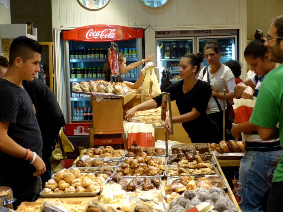 Home baking is a favorite tradition of the Israeli people and you can sample some of their delicious pastries in local bakeries.