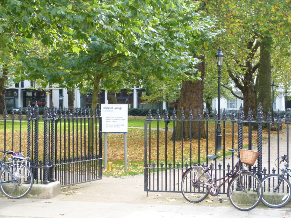 Located right on the cusp of Hyde Park, the Imperial College campus has lots of greenery and shady spots for studying or simply enjoying the day