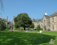 Spend your break between classes or study with friends at St Mary's Quadrangle.