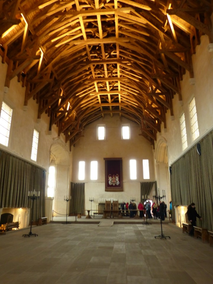 The great hall within Stirling Castle was the first instance of Renaissance architecture to appear in Scotland.