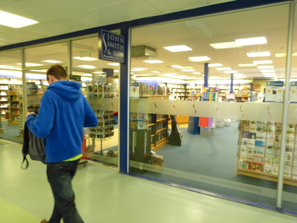 The bookstore in the student union can help get you stocked up and supplied for your studies.