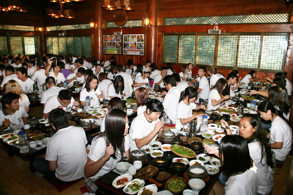 Field trip group meal