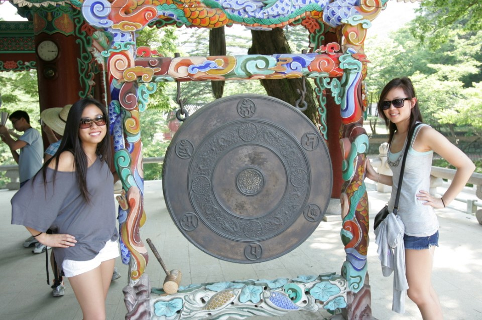 Field trip to Magoksa and Magok Temple