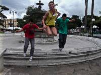 Central Heredia is a great place to play with your host family!