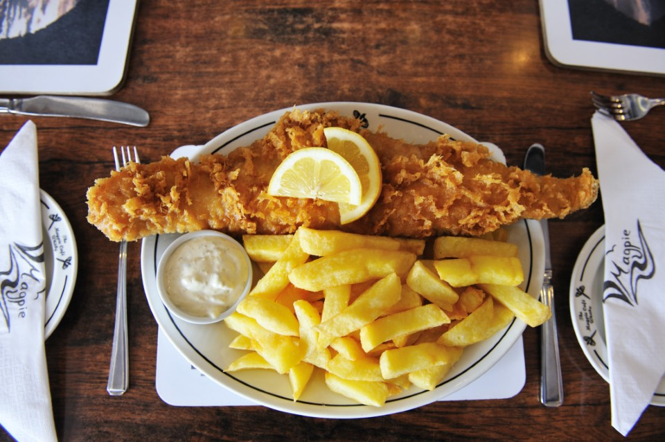 Fish and chips are a favorite in the UK, in fact, over 250 million fish and chip meals are sold each year!