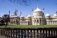 The Royal Pavilion was originally a royal residence, but the pavilion was purchased by the city of Brighton and was used for a variety of purposes, including as a makeshift hospital for soldiers of the Imperial Indian Army during World War I.
