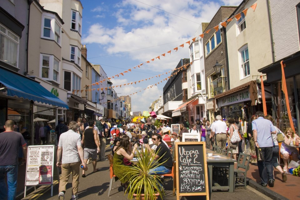There are over 400 restaurants in Brighton, so you'll never be at a loss of places to go when you're hungry!