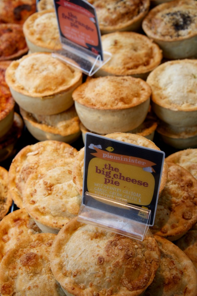 Pies have a long history in England. Early pies were predominantly filled with meat, though fruit pies became popular during the 1500s. English tradition even credits Queen Elizabeth I with making the first cherry pie.