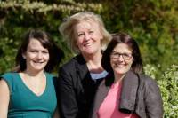 Becca, Mary and Zöe will be consistent and positive support system throughout your journey.
