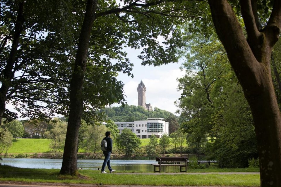 Take a walk through the campus and enjoy the calming sound of the river.