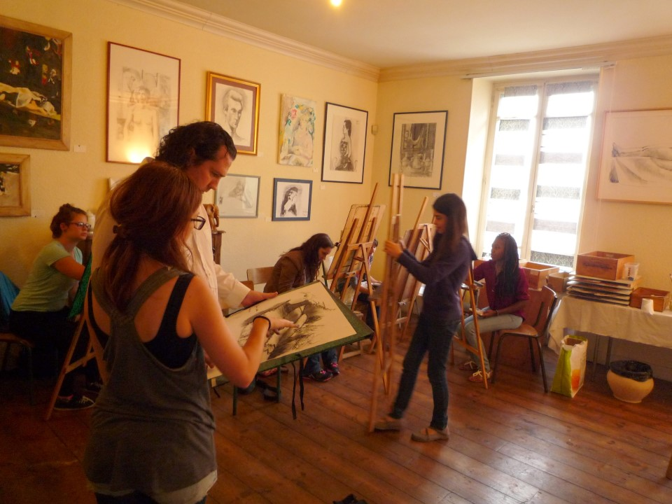 Drawing & Paintingelective class