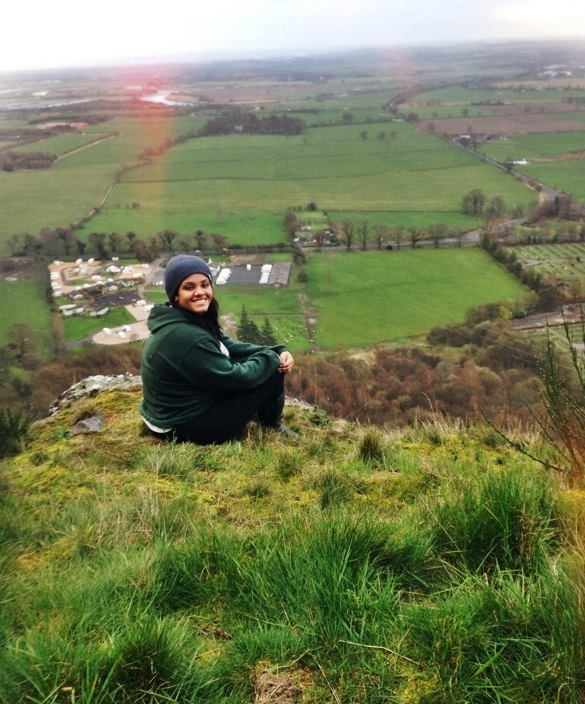 Walk ten minutes directly behind the University to Dumyat, which offers plenty of beautiful views of both Stirling and the surrounding towns.