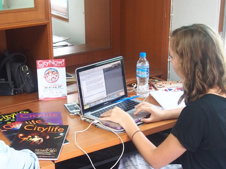 Intern with City Life, a successful publication in Chiang Mai!