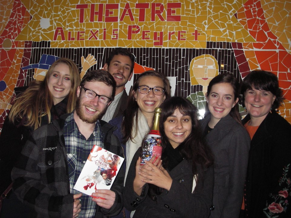 """Students went to see """"Dom Juan"""" (written by Molière)"""