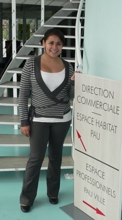 """I am definitely glad I decided to do this internship since it was a different experience for me and I now know more about French banks and their work environment as well."" (Andrea from University of Nevada, working for le Crédit Agricole bank)"