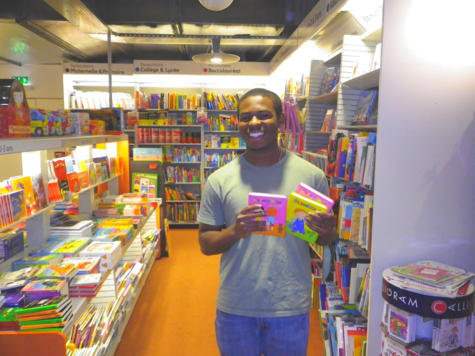 """I learned a lot about French culture and improved my French conversational skills in a way that can only be achieved with extensive practice like that I received at the Fnac.""   (Rodney from University of South Carolina, working at the Fnac)"