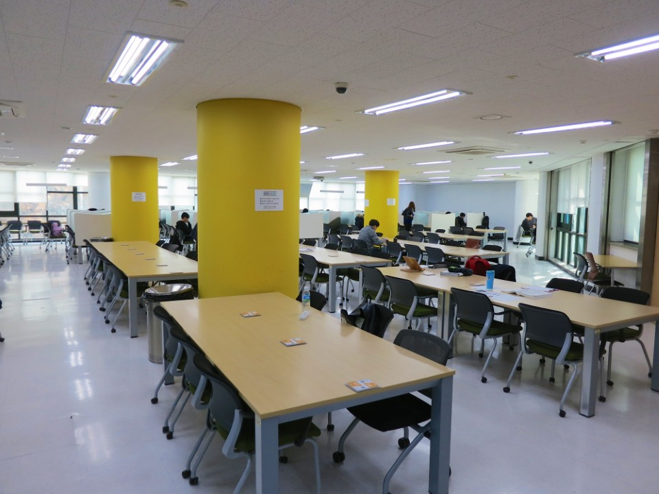 Study area in Sungkok Library