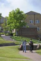 USAC students have the convenience of living right on campus, making it easy to get to class and meet other students.