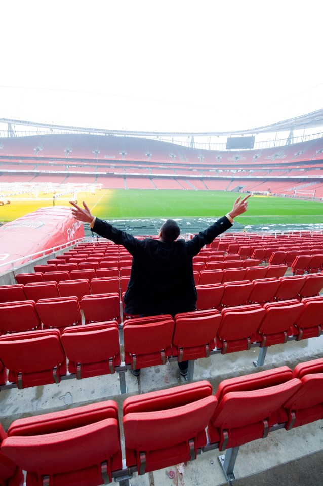The Emirates Stadium, home of the Arsenal Football Club, seats 60,432 spectators, making it the third –largest football stadium in England