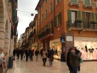 Via Mazzini popular shopping Street