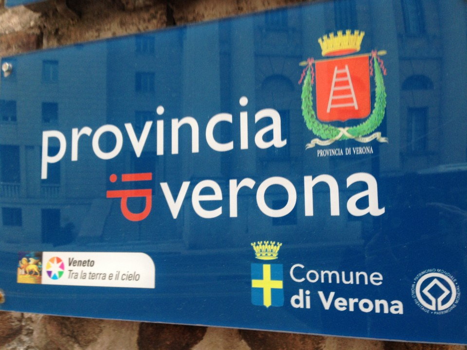 Verona tourism office in city center