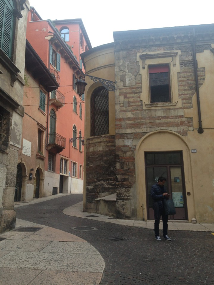 city streets are full of colors, shapes and layers of history