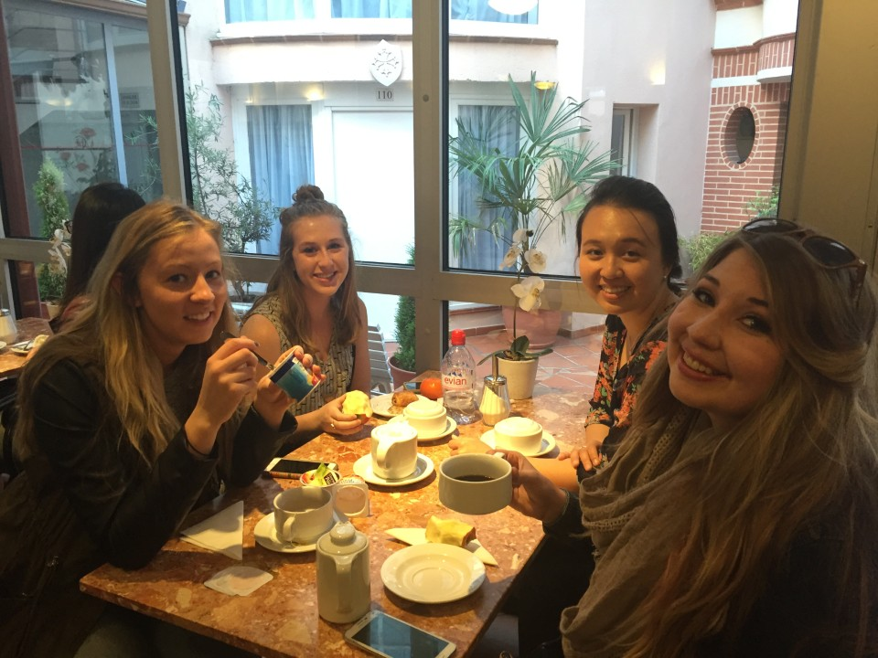 Toulouse - Breakfast at the hotel