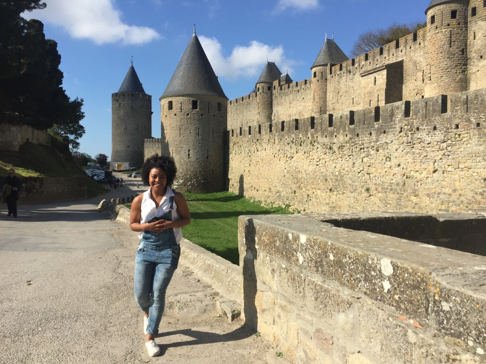 Carcassonne - Walking around the medieval fortification
