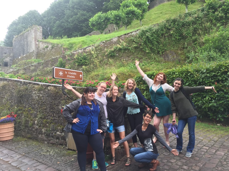 Going up to the citadelle