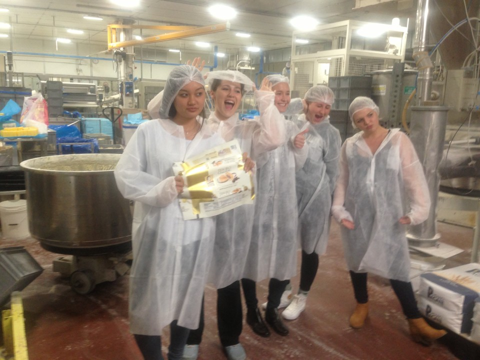 Learning about the business world of Italian cookies, desserts and pastries - October 2016