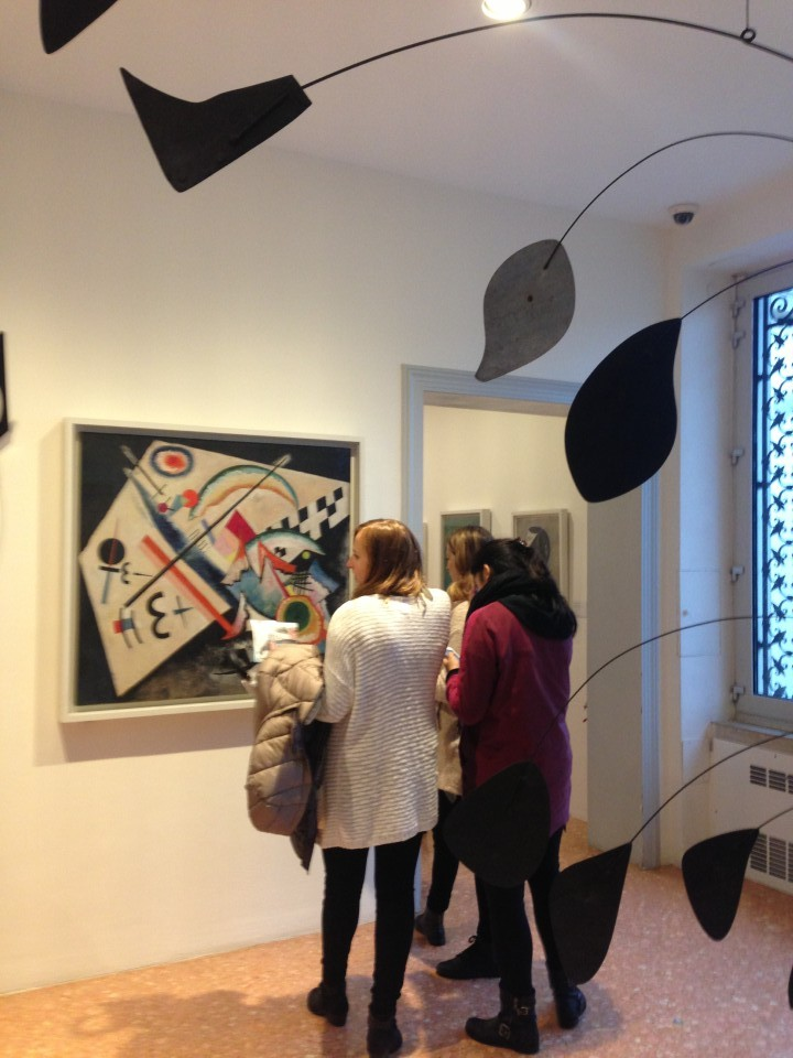 Art course visit - Peggy Guggenheim museum on the Venice Grand Canal
