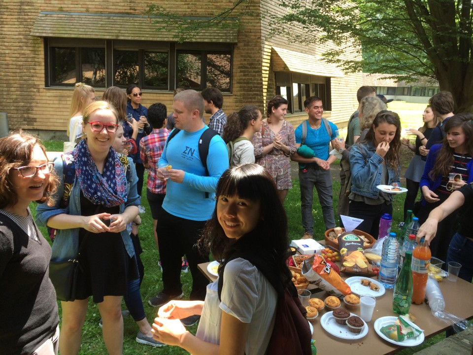 Get-together with French students and some French music