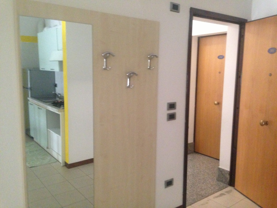entrance area to student apartment